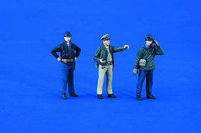 Verlinden USN Landing Craft Crew WWII (3) Resin Model Military Figure Kit 1/35 Scale #1864