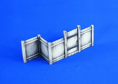 Verlinden Wooden Fence System Resin Military Diorama Kit 1