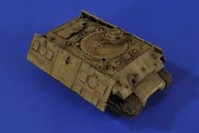 Verlinden Israeli Sherman Moving Practice Target Tank Resin Model Military Vehicle Kit 1/35 #2645