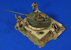 Verlinden German T34 Turret Bunker Resin Military Diorama Kit 1/35 Scale #2773