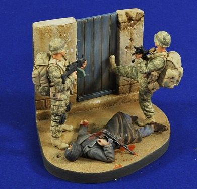 Cleaning House Iraq Resin Military Diorama Kit 1 35 Scale