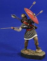 Verlinden 54mm Roman Javelin Thrower Plastic Model Military Diorama #2815
