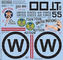 Warbird B29 Joltin Josie The Pacific Pioneer, United Notions Decal 1/48 Scale #148083