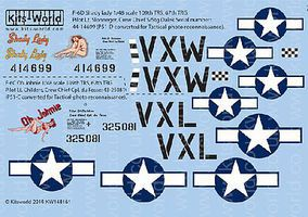 Warbird P51 Shady Lady, Oh Johnie Plastic Model Aircraft Decal 1/48 Scale #148151