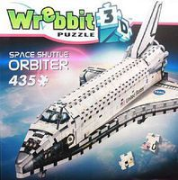 Wrebbit Wrebbit 3D- Space Shuttle Orbiter Foam Puzzle (430pcs)