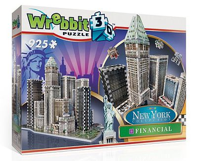 Wrebbit Downtown Financial Foam Puzzle (925pcs) -- 3D Jigsaw Puzzle -- #2013