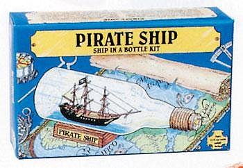 Woodkrafter Kits Pirate Ship in a Bottle Kit