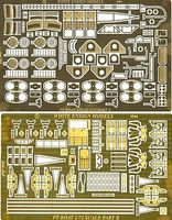 White-Ensign PT109 Torpedo Boat Detail Set for RMX Plastic Model Ship Accessory 1/72 Scale #7205