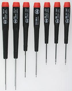 Wiha Tools 7pc Metric Hexdriver Set