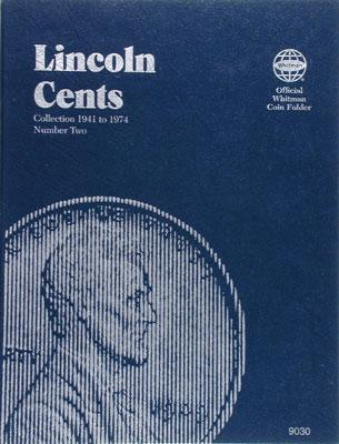 Whitman Publishing Lincoln Cents 1941-1974 Coin Folder -- Coin Collecting Book and Supply -- #0307090302