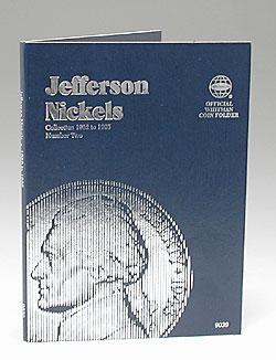 Whitman Publishing Jefferson Nickels 1962-1995 Coin Folder -- Coin Collecting Book and Supply -- #0307090396