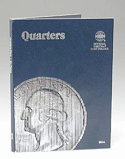 Whitman Publishing Quarters Plain Coin Folder -- Coin Collecting Book and Supply -- #0307090442