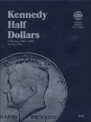Whitman Publishing Kennedy Half Dollars 1986-2003 Coin Folder -- Coin Collecting Book and Supply -- #030709698x
