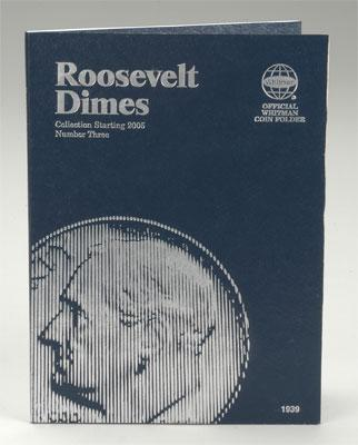 Whitman Publishing Roosevelt #3 2005 -- Coin Collecting Book and Supply -- #0794819397