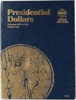 Whitman Presidential Dollar Folder Vol 1 Coin Collecting Book and Supply #0794821812