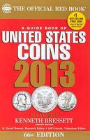 Whitman 2013 66th Edition Guide Book of United States Coins Red Book Coin Collecting Book #0794836771