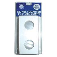 Whitman Nickel-Quarter Mylar Coin Mounts Coin Collecting Book and Supply #2683