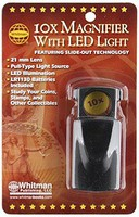 Whitman 10x Magnifier w/Led Light