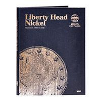 Whitman Liberty Head Nickels 1883-1912 Coin Collecting Book and Supply #9007