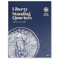 Whitman Liberty Quarters 1916-1930 Coin Collecting Book and Supply #9017