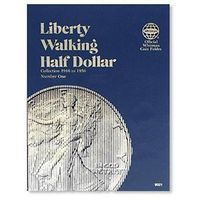 Whitman Liberty Walking Half Dollars 1916-1936 Coin Folder