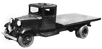 Wheel Works 1934 Ford Flatbed Truck Kit -- HO Scale Model Vehicle -- #96127
