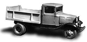 Wheel-Works 1934 Ford Dump Truck Kit HO Scale Model Vehicle #96129