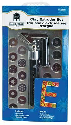Walnut Hollow Clay Extruder Set -- Clay Art Tool -- #28301