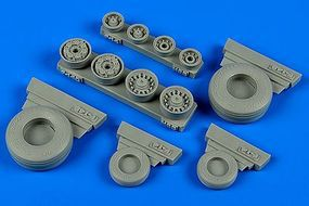 Wheeliant F14B/D Tomcat Weighted Wheels for HBO Plastic Model Aircraft Accessory 1/48 Scale #148012