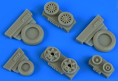 Wheelliant 1/48 F16I Sufa GY Production Weighted Wheels for HSG