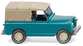 Wiking 1958 Land Rover w/Roof HO Scale Model Railroad Vehicle #10002