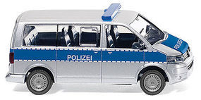 Wiking VW T5 GP Van Police HO Scale Model Railroad Vehicle #10448