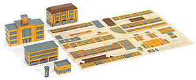 Wiking Building Cut-Out Sheet - HO-Scale