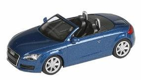 Wiking European Automobiles Audi TT Roadster Aruba Blue HO Scale Model Railroad Vehicle #13437