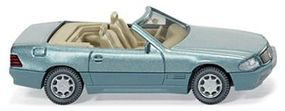 Wiking MB 500 SL Cabrio Metallic - HO-Scale