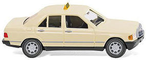Wiking Mercedes-Benz 190 D Taxi HO Scale Model Railroad Vehicle #14923