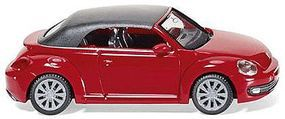 Wiking 2012 Volkswagen Beetle Convertible HO Scale Model Railroad Vehicle #2849
