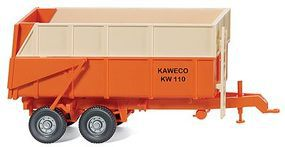 Wiking Kaweco KW 110 Agricultural Dump Trailer Assembled HO Scale Model Railroad Vehicle #38702