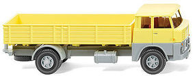 Wiking 1961 Henschel HS 14/16 Low-Side Delivery Truck HO Scale Model Railroad Vehicle #41201