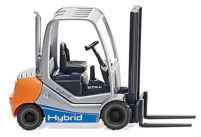 Wiking Still RX 70-30H Forklift -- HO Scale Model Railroad Vehicle -- #66339