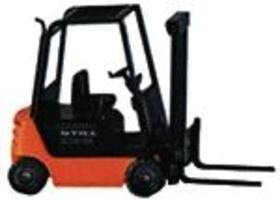 Wiking Still R 70-25 Forklift (Black, Orange) HO Scale Model Railroad Vehicle #663