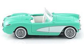 Wiking Chevrolet Corvette Convertible HO Scale Model Railroad Vehicle #81904
