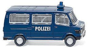 Wiking MB 207 D Bus Police - HO-Scale