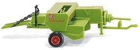 Wiking CLAAS Markant Bailer Trailer Green HO Scale Model Railroad Vehicle #88840