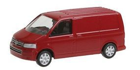 Wiking Volkswagen T5 GP Multivan Cargo Van Assembled N Scale Model Railroad Vehicle #92701