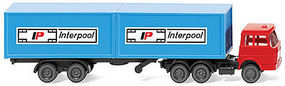 Wiking Container T/T Interpool N Scale Model Railroad Vehicle #95002