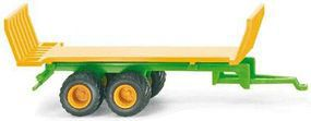 Wiking Joskin Hay Trailer Assembled N Scale Model Railroad Vehicle #95539