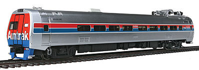 WKW Metroliner 4-Car Set - Snack Bar, Parlor & 2 Coaches - Standard DC -- Amtrak (Phase II)