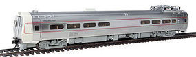 WKW Metroliner 4-Car Set - Snack Bar, Parlor & 2 Coaches - Tsunami(R) Sound & DCC Pennsylvania (As-Delivered) Penn Central & Amtrak Patches
