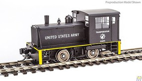 WalthersMainline Plymouth ML-8 Industrial Switcher w/DCC US Army Transportation Corps (black, yellow)
